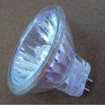 2x Ampoules halogènes Dimmable MR11 halogènes 10W 12V 2700-3000K GU4 blanc chaud cristal verre de quartz intérieur Maison de la marque HoneyFly image 3 produit