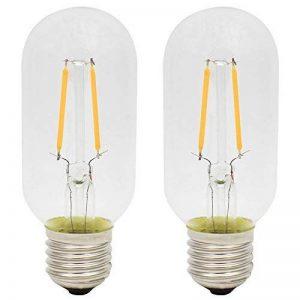 2X E27 Ampoule Filament LED 2W Ampoule Vintage T45 Lampe Edison Blanc Chaud 2300K Ampoule Edison AC220V de la marque ITALASA image 0 produit
