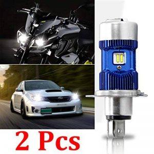 2X H4 / HB2 / 9003 a mené le kit d'ampoule de phares - puissance de puissance - phare de voiture de H4 LED salut / moto de faisceau de Lo, blanc superbe 6000K 8000Lm de xénon DC 12V / DC 24V de la marque Winpower image 0 produit