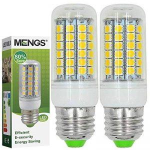 2X MENGS® E27 Lampe à LED 9W AC 220-240V Blanc Froid 6500K 69x5050 SMD de la marque MENGS® image 0 produit