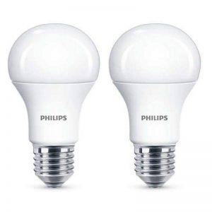 2x Philips LED Frosted E27 100w Warm White Edison Screw Light Bulbs Lamp 1521lm de la marque Philips image 0 produit