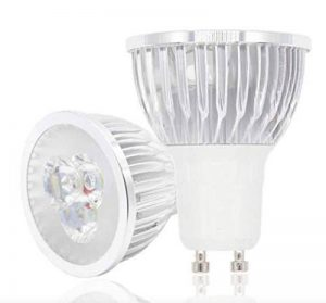 3W Bleu Ampoule LED GU10Lumière Downlight Spot 220V Lot de 10Multi Lot de la marque LedMasters image 0 produit