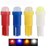 30-Pack T5 / 74 73 2723 2721 1 lumière SMD LED 12V 20LuM pour Ampoule Tableau de Bord,Lumière de Plateau de Cendre(Blanc) de la marque AMAZENAR image 3 produit