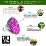 30W LED Plant Grow Light Le Plus Récent Spectre Complet Led Élève La Lumière Ampoule Haute Efficacité Éclairage Pour La Culture De Légumes, De Fleurs Et De Plantes Aquatiques [Classe Énergétique A +++] Par SOLUCKY de la marque SOLUCKY image 2 produit
