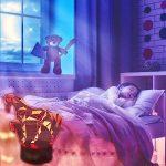 3D Lampe Illusion Optique LED Veilleuse, EASEHOME Optiques Illusions Lampe de Nuit 7 Couleurs Tactile Lampe de Chevet Chambre Table Art Déco Enfant Lumière de Nuit avec Câble USB, Cheval de la marque EASEHOME image 4 produit
