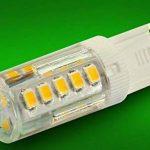 3W Ampoules LED G9, 250-280lm, Blanc Chaud(3000K), 30 Watt Équivalence Halogènes, 33 Pièces 2835 SMD Céramique Lumières LED Décoratives, 10 Pièce de la marque Chrasy image 4 produit