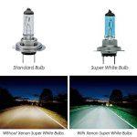 4ampoules JJOnlineStore Xénon HID H7 de 100W 12V extrêmement brillantes pour phare de voiture ou de véhicule UK de la marque JJOnlineStore image 2 produit