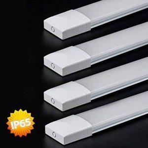 4×J&C® Tubes LED 120CM 36W Plafonnier Étanche IP65 Lampe sur Plafond Anti-Poussière Anti-Corrosion et Anti-Choc Tube Léger Ampoule LED Blanc Neutre de Haute Qualité Fonctionnement Stable de la marque J&C image 0 produit