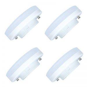 4 Pack GX53 Dimmable Ampoule à LED 9W LED Lampe 45 SMD 2835LEDs Blanc Chaud 3000K Spot LED Bulb 720LM Super Lumineux Ampoule Lampe LED AC220-240V de la marque Tatalantai image 0 produit