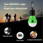 4 pièces LED Camping tente Lumière Ampoule LED portable Affichage de 4 modes Imperméable à la pluie pour la randonnée pédestre Camping Randonnée pédestre Lumière d'urgence Lampe à piles pour l'activité de plein air, 4 couleurs de la marque UNIVERSE MALL image 1 produit