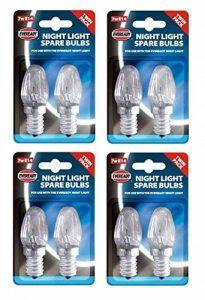 4X Lot de 2Eveready Veilleuse de rechange ampoules 7W E14Bouchon à vis de montage de la marque Eveready image 0 produit