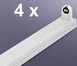 4x tube LED Support douille pour une 120cm T8/G13Tube LED–Comme pour tube fluorescent Support de remplacement de la marque Tsong image 0 produit