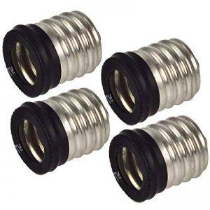 4Pcs MENGS® E17 Pour E14 LED ampoule douille de lampe / adaptateur rallonge / support de la marque MENGS® image 0 produit