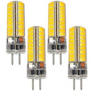 4Pcs MENGS® GY6.35 Lampe à LED 6W AC/DC 12V, Blanc Froid 6500K, 72x5730 SMD Avec veste de silicone de la marque MENGS® image 0 produit