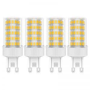 4X G9 Ampoule LED 10 W Ampoule Lampe Blanc Chaud 3000K LED Bulb 86 SMD 2835LEDs Haute Luminosité 800LM Spotlight AC220V-240V de la marque ELEXI image 0 produit