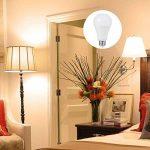 4X LOHAS 23W E27 Blanc Chaud 2700K, Ampoule LED, 200W Ampoule Halogène Équivalent, 220-240V AC, 2500lm, 240°Larges Faisceaux, Ampoule E27 de la marque Lohas-Led image 4 produit