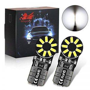 4X T10 W5W 194 168 2825 LED intérieur ampoules-Win Power- Super Bright blanc froid Dome carte porte courtoisie plaque d'immatriculation lumières lampe de la marque Winpower image 0 produit