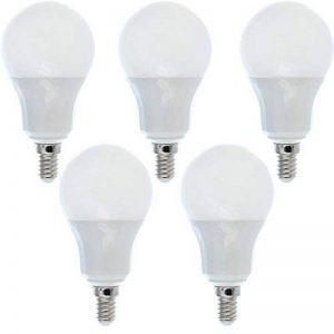 5 Ampoules LED E14 9W éq. 70W blanc chaud de la marque Ampoule-led image 0 produit