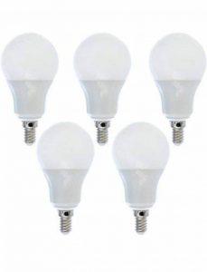 5 Ampoules LED E14 blanc chaud 8W=65W de la marque Ampoule-led image 0 produit