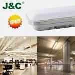 5×J&C® Tubes LED 120CM 36W Plafonniers Étanche IP65 Lampes sur Plafond Anti-Poussière Anti-Corrosion Anti-Choc Ampoules LED Blanc Neutre de Haute Qualité Fonctionnement Stable Garantie Internationale de la marque J&C image 1 produit