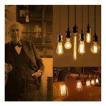 5×Neverland E27 40W Edison Rétro Lampe Antique Vintage Incandescence Ampoules Poire à cage d'écureuil Filament 50V-240V A19 de la marque Neverland image 4 produit