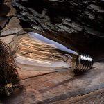 5×Neverland E27 40W Edison Rétro Lampe Antique Vintage Incandescence Ampoules Poire à cage d'écureuil Filament 50V-240V ST64 de la marque Neverland image 2 produit