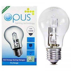 5 x Ampoules GLS Halogènes 70W = 100W Culot a Vis ES E27 de la marque Opus Lighting Technology image 0 produit