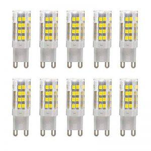 5W G9 Ampoules LED, Ampoules Halogène 30W équivalent, 350lm, Omnidirectionnelle 360°, Blanc Froid, 6000K, G9 Ampoule,Ampoule Maïs Léger, Ampoules LED, Paquet De 10 Unités de la marque yohooo image 0 produit