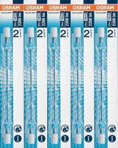 5x ampoules halogène Osram Haloline Pro R7s 118mm 230V 120W 64696 de la marque Osram image 0 produit