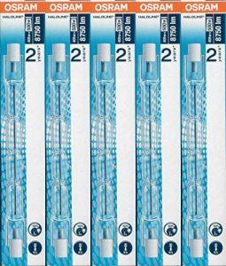 5x ampoules halogène Osram Haloline Pro R7s 118mm 230V 400W 64702 de la marque Osram image 0 produit