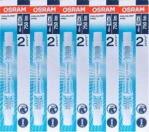 5x ampoules halogène Osram Haloline Pro R7s 230V 48W 64684 de la marque Osram image 0 produit