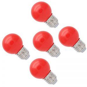 5X E27 Ampoule Couleur LED 1W Ampoule de Rouge 70-100LM économie d'énergie Couleur à LED Adapté aux Décoration 220V-240V de la marque ITALASA image 0 produit