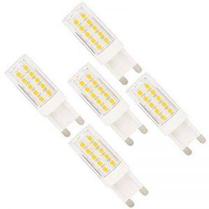 5X G9 Ampoule LED 5W Dimmable Ampoule Lampe 44 SMD 2835LEDs Blanc Chaud 350LM Super Brillant Lampe Bulb AC220-240V de la marque ITALASA image 0 produit