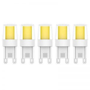 5X G9 LED Bulb 2.5W Ampoule LED COB Blanc Froid 6000K 250LM Ampoule Lampe Équivalent à Lampe Halogène 25W AC220V de la marque ELEXI image 0 produit