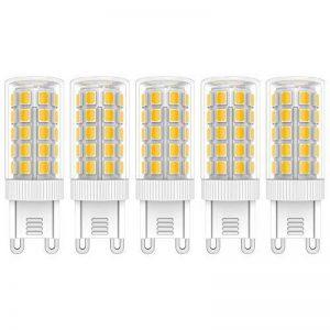 5X G9 LED Lampe 5W Ampoule LED 44 SMD 2835LEDs Blanc Chaud 3000K Ampoule Lamp 450LM AC220V-240V Équivalent à Lampe Halogène 50W de la marque ELEXI image 0 produit