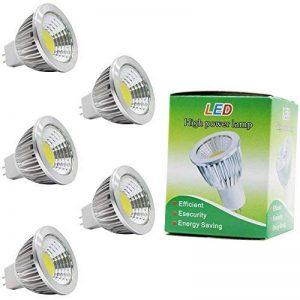 5X MR16 Ampoule LED GU5.3 LED Bulb COB 3W Économie d'énergie Ampoule Lampe Blanc Froid 210LM lampe de salon DC12V de la marque ITALASA image 0 produit