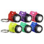 6x HC 915711Porte-clés lampe de poche lampe Vapor 4cm en plastique transparent de la marque HC-Handel image 1 produit