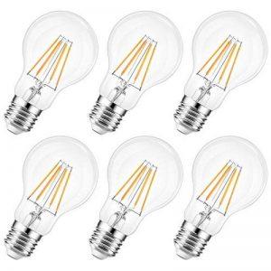6W Ampoule LED Filament E27 A60, Equivalent à 60W, 2700K 800Lm, Non dimmable, ANWIO de la marque ANWIO image 0 produit