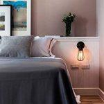 6W Ampoule LED Filament E27 ST64, Equivalent à Ampoule Incandescente 60W, Ampoule Rétro Edison, 800LM 2700K Blanc Chaud, Non-dimmable, Lot de 6, LVWIT de la marque LVWIT image 2 produit