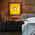 6W Ampoules LED Filament E27 G80, Equivalent à Ampoule incandescence 60W, Rétro Edison Ampoule Antique Lampe, 800Lm 2700K Blanc Chaud, Lot de 6, Non Dimmable, LVWIT de la marque LVWIT image 3 produit