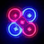 6W GU10 Lampes Horticoles LED MR16 3 LED Haute Puissance lm Rouge Bleu K AC 85-265 V de la marque Ampoules LED image 2 produit