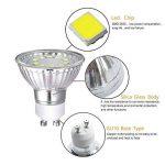 6X GU10 Ampoule LED, 3.5W Lampe, 10 SMD 2835 LED Bulb, Équivalent Ampoule Incandescente De 35W, Blanc Froid 6000K, 320lm de la marque yohooo image 2 produit