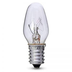 7W E14/SES Bell Nuit Ampoule de Lampe Transparent x 4 de la marque Bell image 0 produit