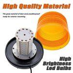 72 LED Gyrophare Voyant, Appow Clignotant Lampe Lumière d'avertissement d'alarme Lumière,DC10-30V de la marque Appow image 1 produit