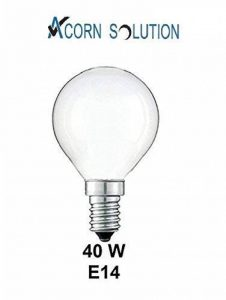 Acorn Lot de 10mini ampoules rondes 40W 240V Classiques Légères À petite vis E14 Lampes incandescentes en forme de balle de golf de la marque AcornSolution image 0 produit