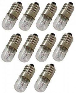 AERZETIX: 10x Ampoules E10 12V 4W C17605 de la marque AERZETIX image 0 produit