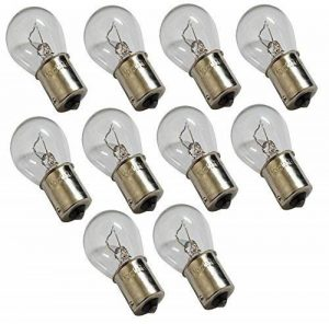 Aerzetix: Lot de 10 ampoules 12V P21W BA15S pour auto voiture utilitaire de la marque AERZETIX image 0 produit