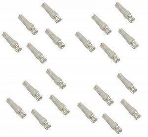 Aerzetix - Lot de 20 ampoules T5 à LED lumière blanche - C1846 de la marque AERZETIX image 0 produit