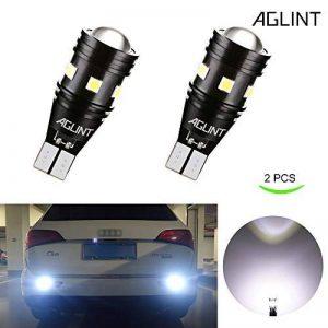 AGLINT 2X High Bright Feu de Position 912 921 W16W T15 3030 CANBUS Sans Erreur Ampoules Pour Auto LED Sauvegarde Inversée Ampoule, Xenon Blanc de la marque AGLINT image 0 produit