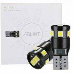 AGLINT W5W T10 LED Ampoule 194 168 2825 LED 9SMD CANBUS Sans Erreur Feux Pour Voiture Lampes D'intérieur Voitur De Plaques D'immatriculation Lumières de la marque AGLINT image 1 produit